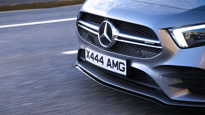AMG A35 4MATIC front grille