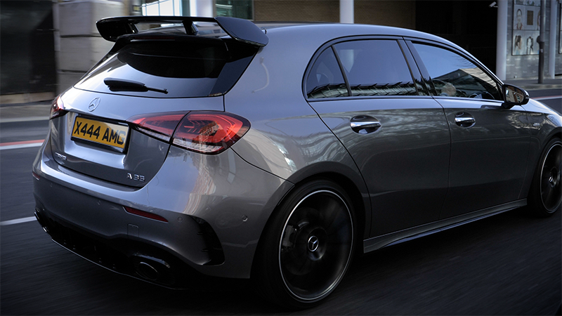 AMG A35 4MATIC back