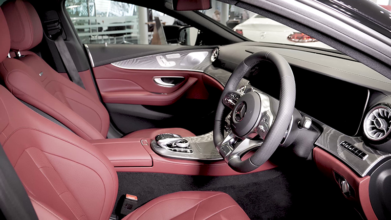 Mercedes-Benz AMG CLS53 4MATIC+ Review Interior
