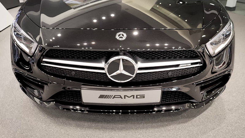 Mercedes-Benz AMG CLS53 4MATIC+ Review Front
