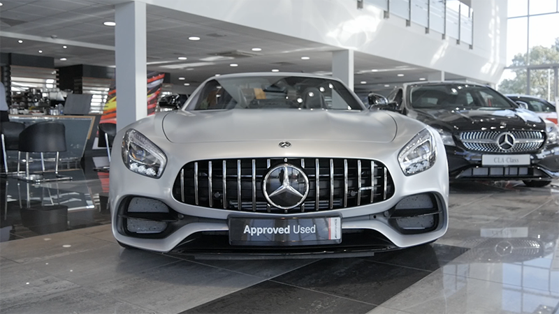 Mercedes-Benz AMG GTC Roadster Review Front