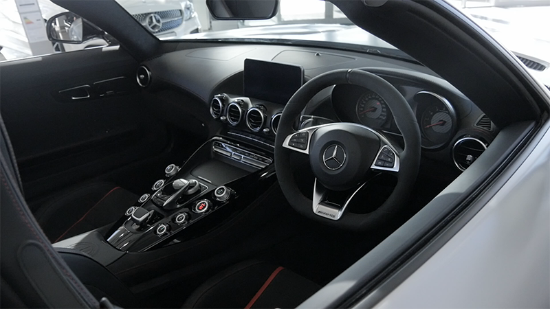 Mercedes-Benz AMG GTC Roadster Review Interior