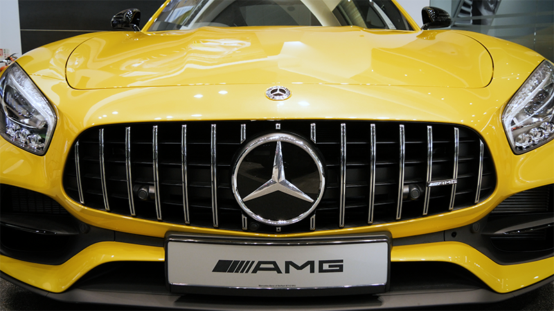 Mercedes-Benz AMG GTS Coupe Review Front