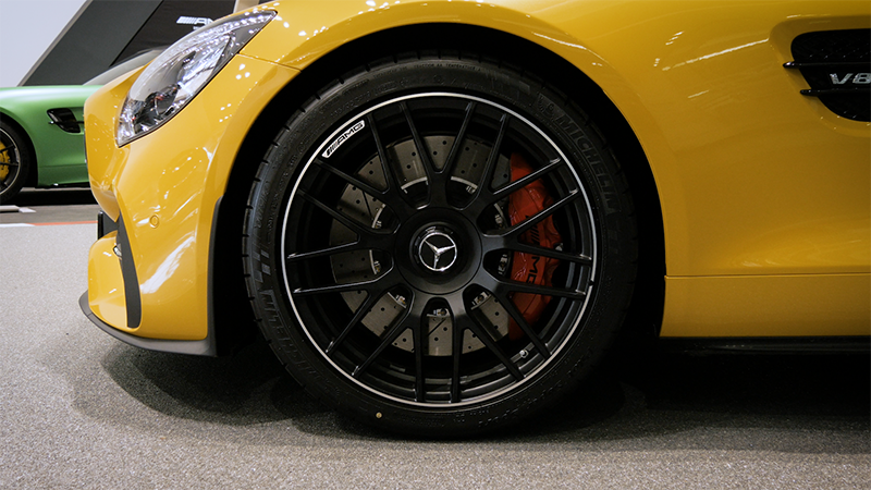 Mercedes-Benz AMG GTS Coupe Review wheels