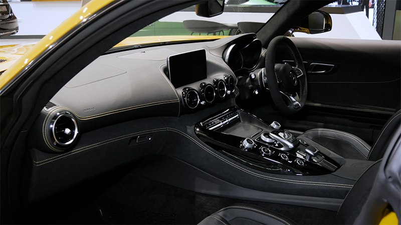 Mercedes-Benz AMG GTS Coupe Review interior