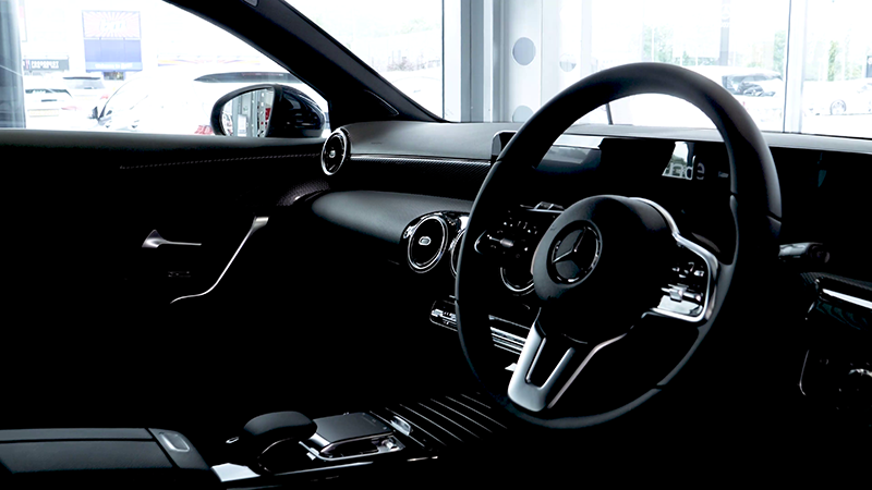 AMG A35 Sport interior