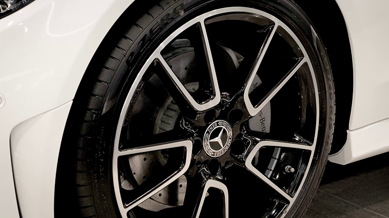 Mercedes-Benz C220D AMG Line Coupe Review Wheel