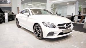 Mercedes-Benz C220D AMG Line Coupe Review Image