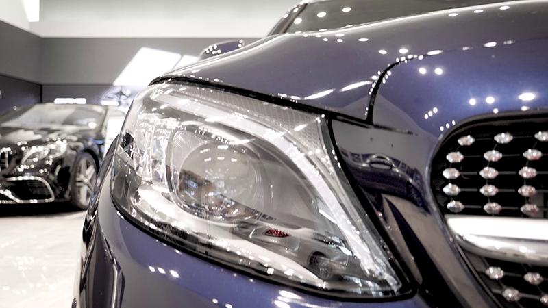 Mercedes-Benz C200 AMG Line Estate Review Front