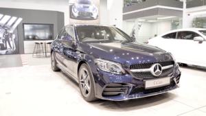 Mercedes-Benz C200 AMG Line Estate Review Image
