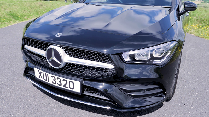 Mercedes Benz CLA 200 AMG front