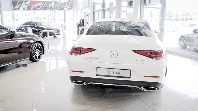Mercedes-Benz CLS 350D AMG Line Coupe Review back