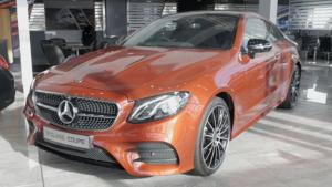 Mercedes-Benz E220d E-Class Coupe review image